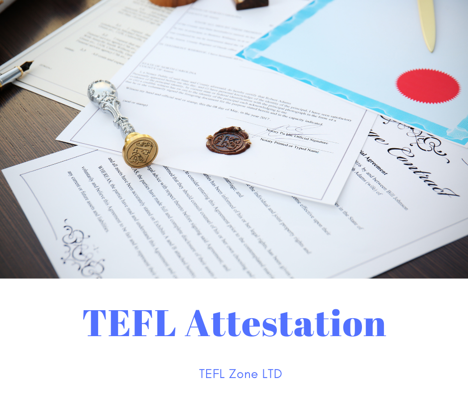 TEFL Attestation