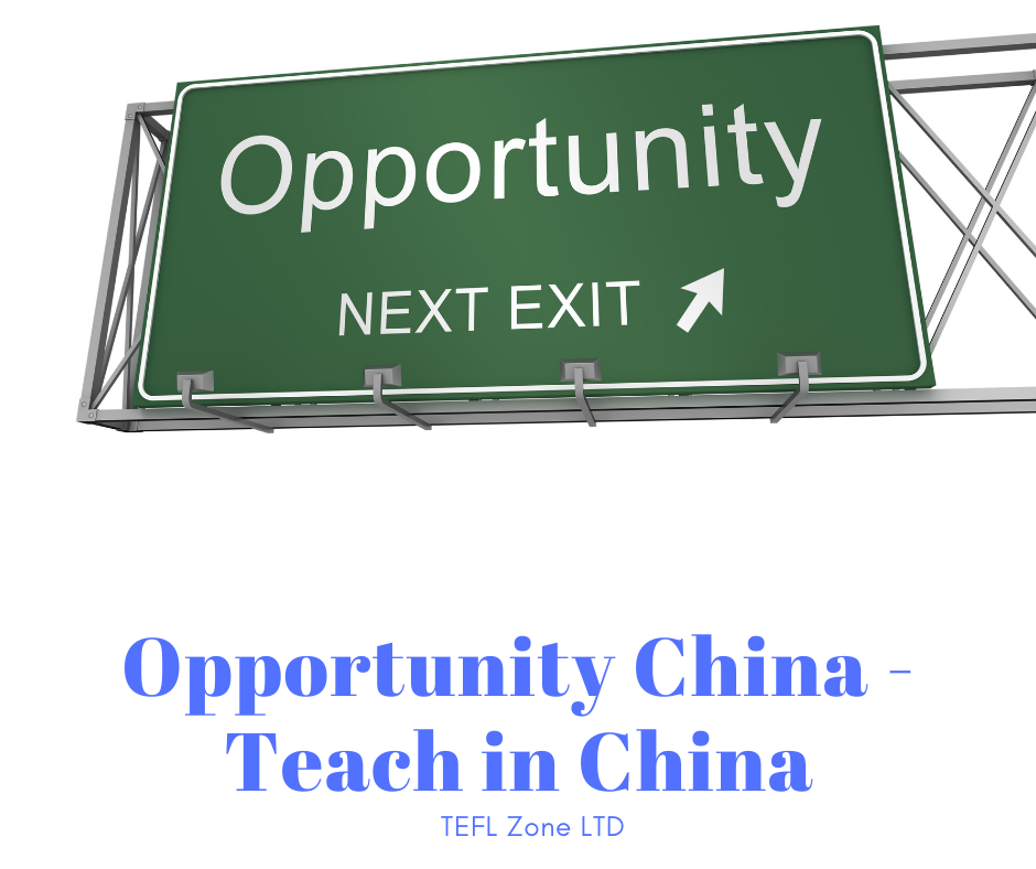 Opportunity China - Teach in China